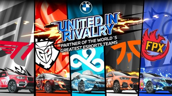 BMW teams up with world's leading esports teams