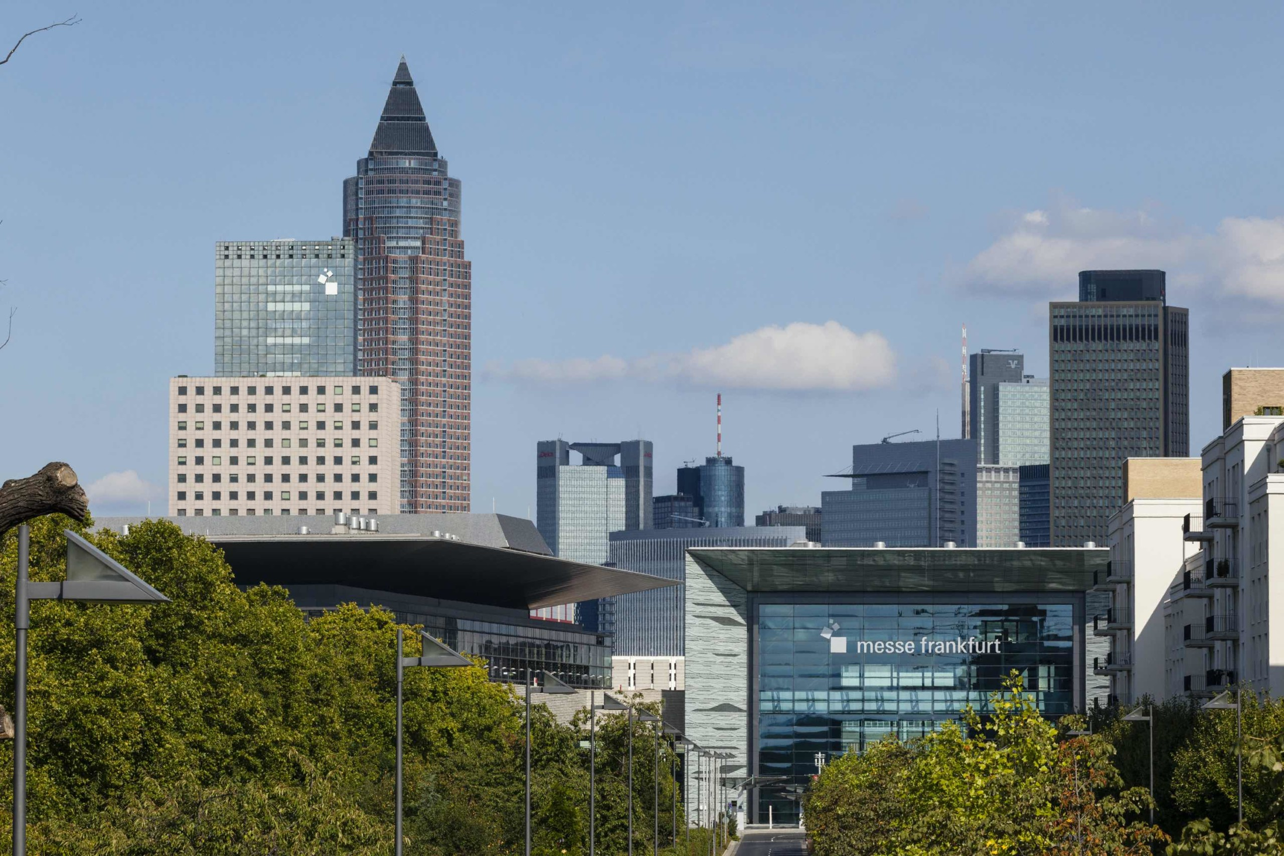 Frankfurt exhibition grounds get back to business