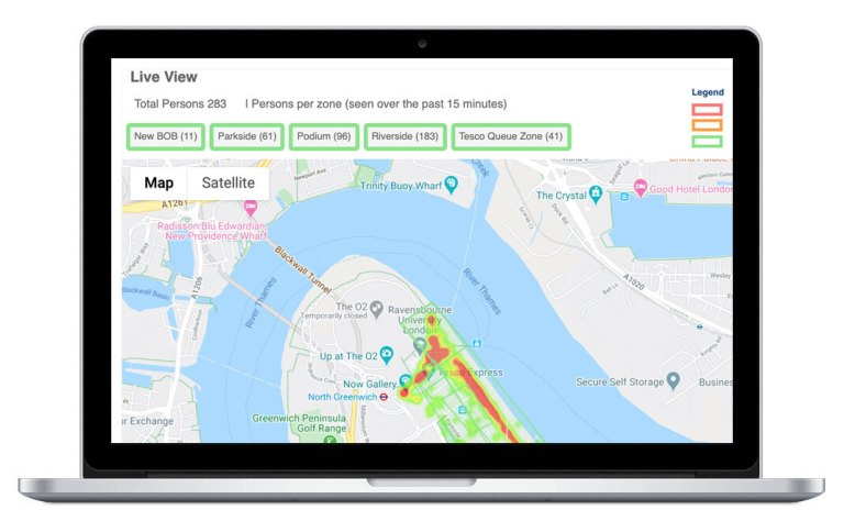 Crowd alert tool helps venues to reopen